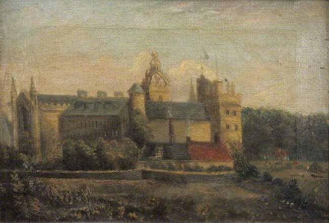 unknown artist; King's College, Aberdeen